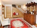 Spacious entrance hall beautifully decorated