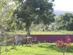Jardín con bucólicas vistas al valle