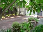 Front entrance garden