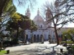 'Basílica da Estrela'  from 'jardim da estrela' -