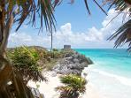 Tulum archeological site (5 minutes away)