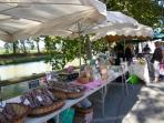 Local markets - lots of seasonal, healthy, fresh produce