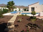 The lovely villa gardens