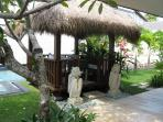 Balinese Bale for outdoor gatherings