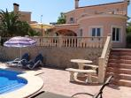 Villa & landscaped garden with great views