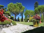 Domaine de Montagenet - Jardin toscan