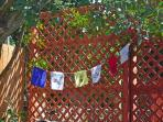 Make a family prayer flag. Break out the monopoly or help paint a mural in the back yard.