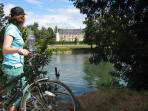 Cycling is another very popular activity in the immediate area. We supply bikes FOC