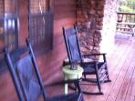 Open Porches With Rocking Chairs
