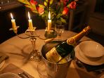 Perfect for a romantic break. Order chilled champagne for your room