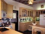 KItchen with Fridge , Dishwasher , Gas Cooker ; Microwave,and convection oven,