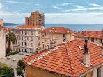 Sea and rooftop views over Monaco