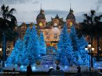 Why not do Christmas in style!   Spectacular decorations all over the Principality.