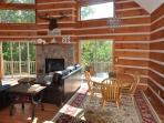 The Open Floor Plan with Kitchen  Living Room on Main Floor