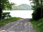 Flat Branch Public Boat Access is Just a Short Drive or Walk Up from Mountain Lure
