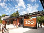 Woodland Park Zoo is just a short drive away