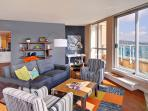 Belltown star! This luxurious penthouse apartment steals the show!