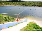 actividades en la lagoa de Pitangui