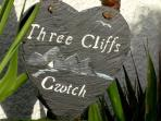 Three Cliffs Cwtch .... The word Cwtch is welsh for 'an affectionate cuddle' or 'a safe place'