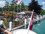 Lake Steamer at Spiez