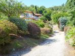 Villa Colmegna driveway