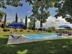 Il panorama dalla piscina