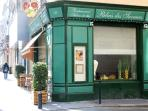 One of many excellent restaurants in the Rue Gallien, the next street
