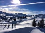 Marshmallow snow and peaceful pistes