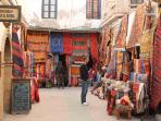 The rug and carpet souk.