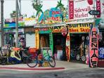 ...Or rent even more bikes on the Venice boardwalk