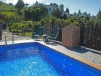 House Los Cardones with pool island of La Palma