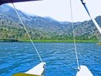 Visit Lake Kournas and see the Turtles on a pedalo
