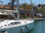 You can take boat trips from Puerto Mazarron Marina