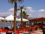 Puerto de Mazarron beach and marina, just 15 minutes away