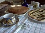 B&B Lacasadicampagna colazione bio (organic breakfast)