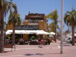 Puerto de Mazarron marina and beach area