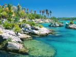 Visit lagoons and waterparks (Xel Ha, Xcaret)