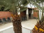 villa casa chris`s palm bbq area