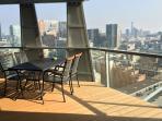 Balcony living room
