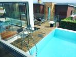 pool viw from one room