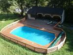 the pool is 12m x 6m
