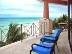 Slide open your doors to this amazing balcony to enjoy the vibrant beach life