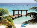 Walk the pier in Playa