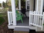 Updated Deck with Gas Barbecue and Privacy Gate