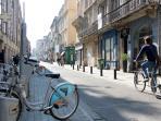 The next street, Rue Gallien has an abundance of wonderful restaurants