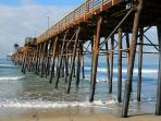Oceanside pier - 10 minutes away (7 miles)