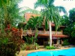 Stunning traditional style villa, sleeps 9, private pool, beach 250m, tropical gardens. Unique!