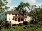 Beachfront colonial villa