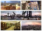 Flair towers, from the brochure