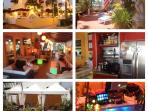 Villa Sinclair Beach Private Lounge cafe, 6,000 SQF of Covered bar, Beach Cabanas, Sundeck, Hot Tub,